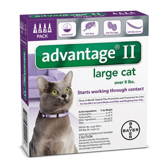 Advantage II Large Cat 4 pack