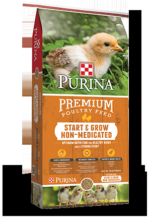Purina Start & Grow® Poultry/Chicken Feed