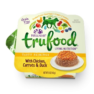 Trufood Tasty Pairing w/ Chicken, Carrots & Duck Wet Dog Food