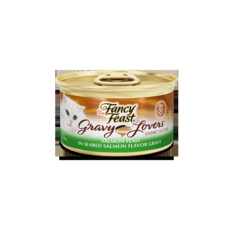 Fancy Feast Gravy Lover Salmon 24/3oz