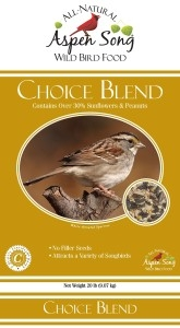 Aspen Song Choice Blend Bird Feed
