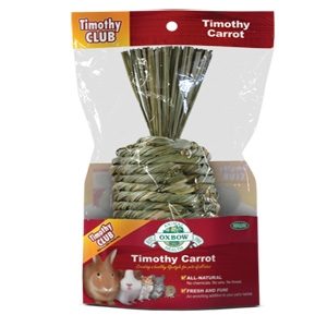 Oxbow Timothy Carrot Treat for Small Animals