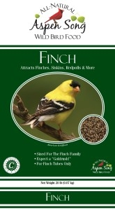 Aspen Song Finch Bird Feed