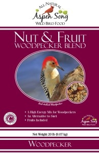 Aspen Song Nuts & Fruit Woodpecker Bird Feed