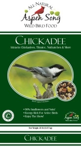 Aspen Song Chickadee Bird Feed