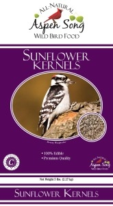 Aspen Song Sunflower Kernels Bird Feed