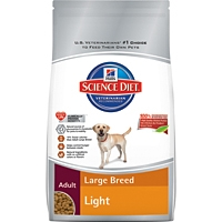 Hill's Science Diet Adult Large Breed Light