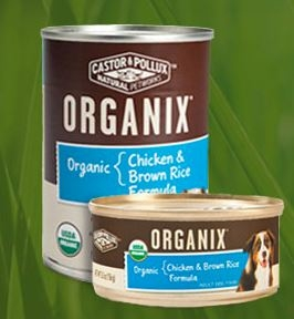Organix Organic Chicken & Brown Rice Wet Dog Food, 12.7 oz. Can