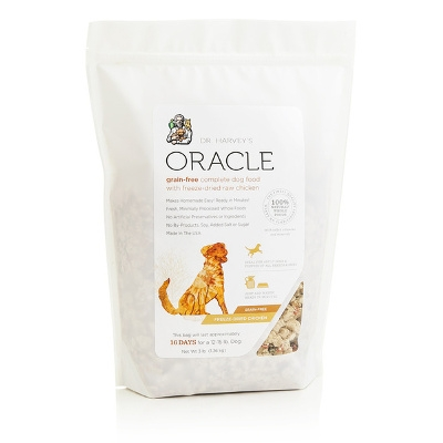 Oracle Grain Free Complete Dog Food with Freeze Dried Raw Chicken