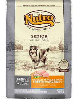 Nutro Original Senior Chicken, Whole Brown Rice & Oatmeal