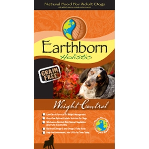 Earthborn Grain Free Weight Control Dry Dog Food
