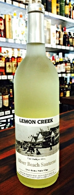 Lemon Creek Winery Silver Beach Sauterne White Wine