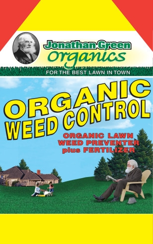 Organic Weed Control Plus Fertilizer