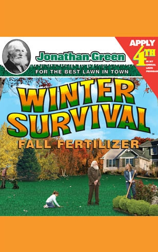 Winter Survival Fall Fertilizer 10-0-20 - Apply 4th