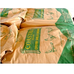 Coastal Brand Oyster Shell Poultry Feed