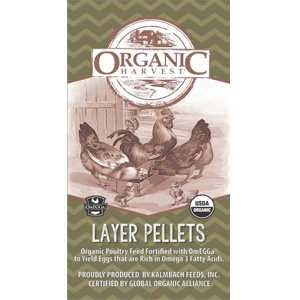 Nature's Harvest Organic Layer Pellets Chicken Feed