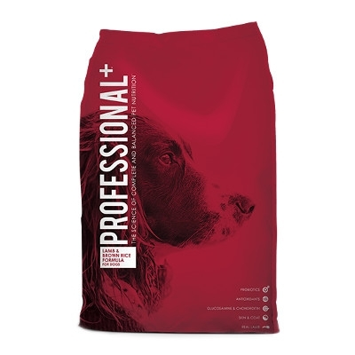 Professional Plus Lamb & Brown Rice Dog Food