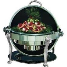 Roll top chafer 6qt.-round