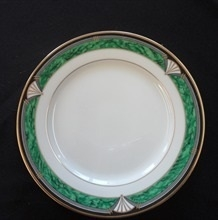 "Townsend Green: 8"" Salad plate"