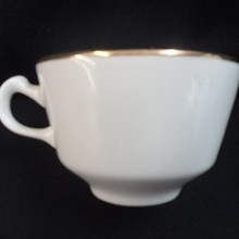 Gold Band: 8 oz Coffee/Tea Cup