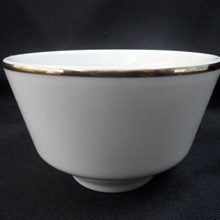 Gold Band: 8 oz Bouillon Cup