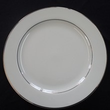 "Gold Band: 10.25"" Dinner Plate"