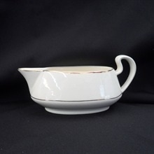 Gold Band: 14 oz Gravy/Sauce boat