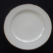 "Gold Band: 7"" Salad/Dessert Plate"