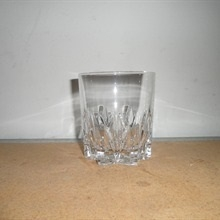 Lead Crystal Low Ball Glass