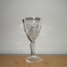 6oz Lead Crystal Wine Glass