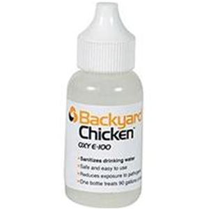 Backyard Chicken Oxy E-100 Liquid Sanitizer