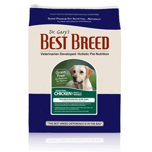 Dr. Gary's Best Breed Grain Free Chicken Dog Diet