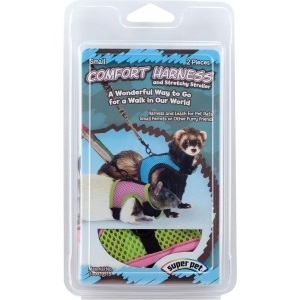 Super  Comfort Harness With Stretchy Leash