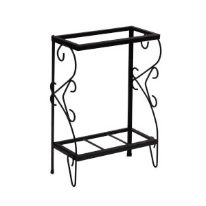 Deluxe Metal Stand Black 48X13 In.