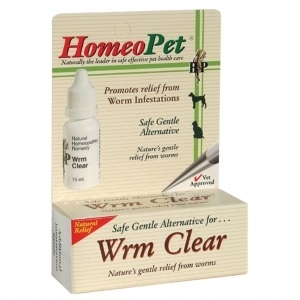Dog Homeo Wrm Clear