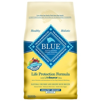 Life Protection Formula - Healthy Weight Chicken & Brown Rice Dog Food for Adult Dogs