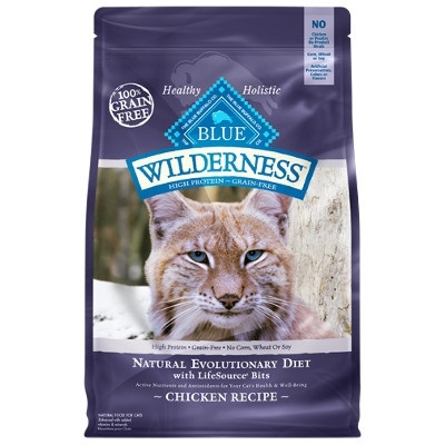 BLUE Wilderness Chicken Recipe for Adult Cats
