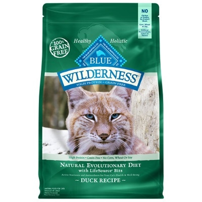 BLUE Wilderness Duck Recipe for Adult Cats