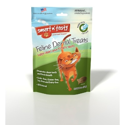 Smart n' Tasty Feline Dental Treats, Catnip