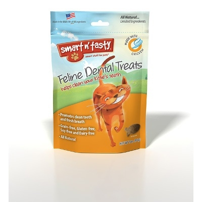 Smart n' Tasty Feline Dental Treats, Chicken
