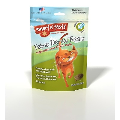 Smart n' Tasty Feline Dental Treats, Tuna Flavor