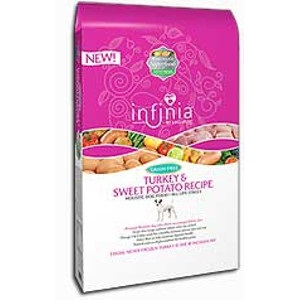 Infinia Turkey & Sweet Potato Dog Food, 5 lbs.