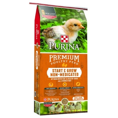 Premium Start & Grow® Non-Medicated Poultry Feed