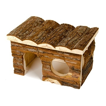 Critter Timbers Bark Bungalow, Medium