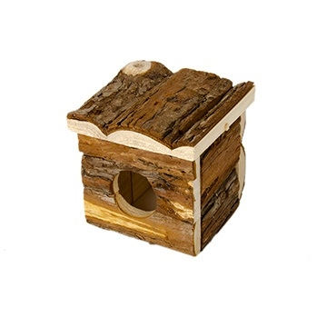 Critter Timbers Bark Bungalow, Small