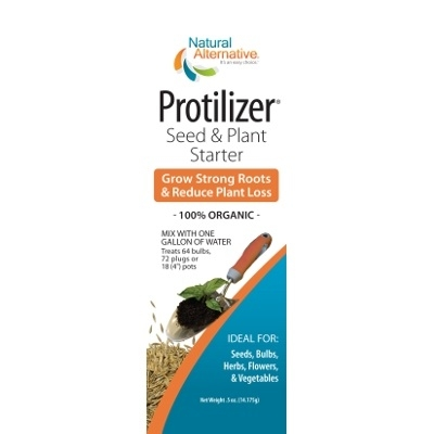 Natural Alternative Protilizer Seed & Plant Starter, .5 oz Packets