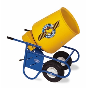 Concrete Mixer Electric Wheelbarrow Style