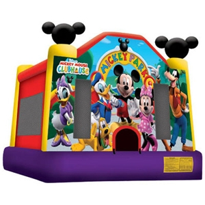 Mickey Park Bounce House 13'x13'