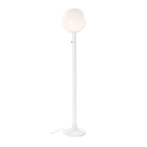 Single Globe Light in with Pole & Base
