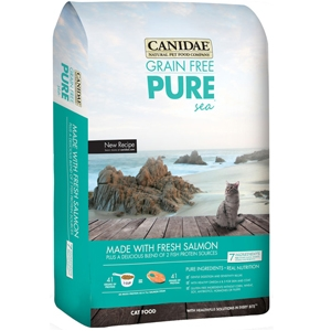 CANIDAE® Grain Free PURE Sea with Fresh Salmon Cat Food